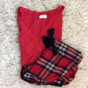 Nordstrom Pajama Set Size: Top xs, bottom s